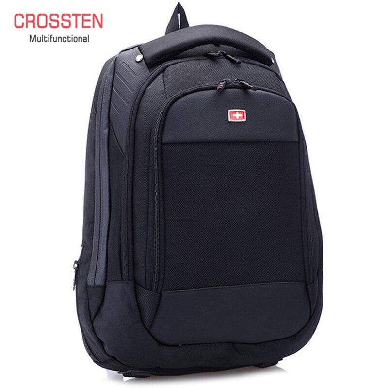 Многофункциональные швейцарские сумки Crossren, рюкзак для ноутбука 15 дюймов, школьная сумка для багажа, водонепроницаемый городской рюкзак, дорожная сумка A16|bag backpack|backpack forbackpack for backpacking | АлиЭкспресс