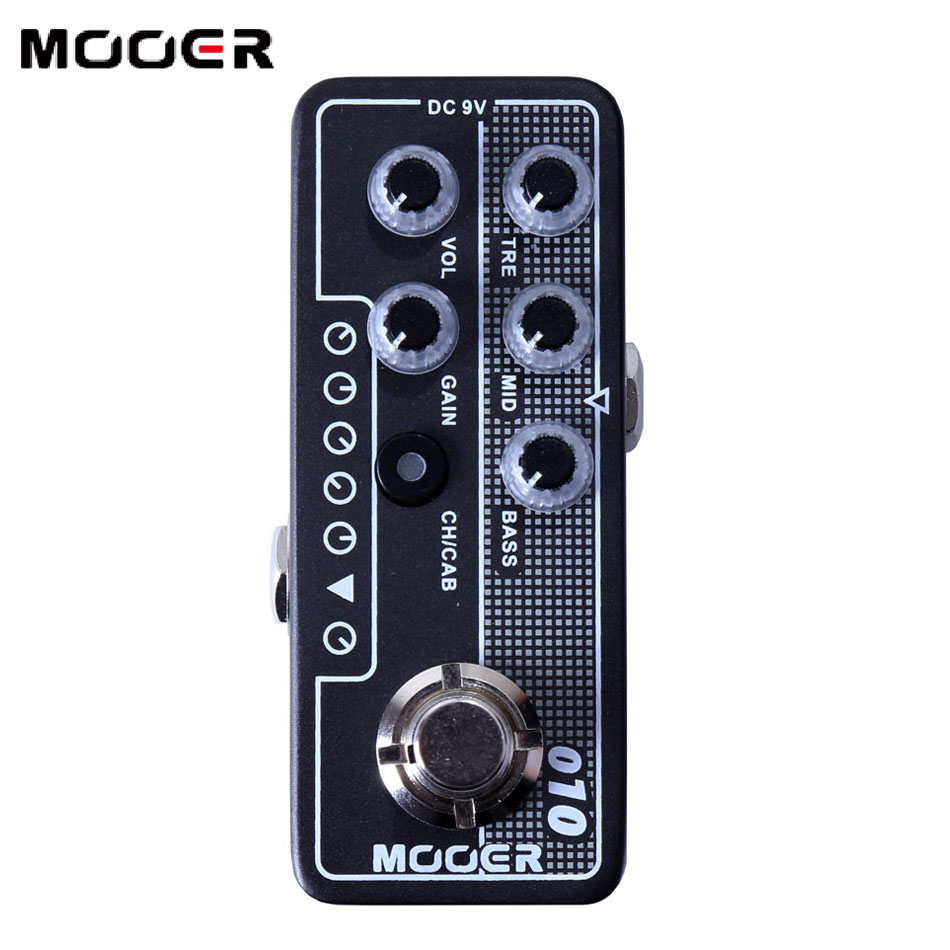Mooer 010 Two Stone electric guitar effect pedal guitar accessories High quality dual channel preamp Independent 3 band EQ mooer 002 uk gold 900 micro preamp dual channel 3 band eq gain volume controls guitar effect pedal with free gift