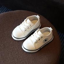 2018 Spring Canvas Children Shoes Girl Breathable Sneaker Shoes Boys Girls Not