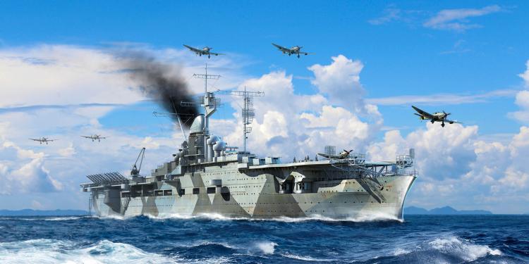RealTS Trumpeter 1/700 06709 German Navy Aircraft C arrier DKM Graf Zeppelin