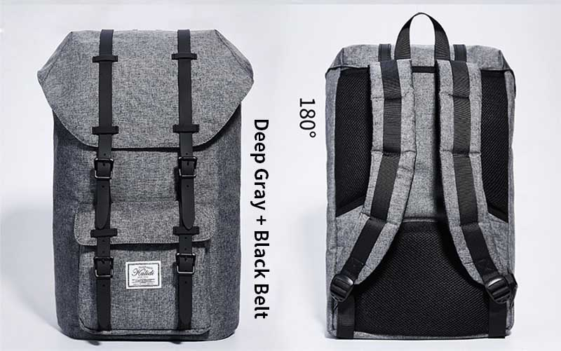 2940d4dba3 KALIDI Men Women Travel Bags for Teenage School Bag Casual Travel ...