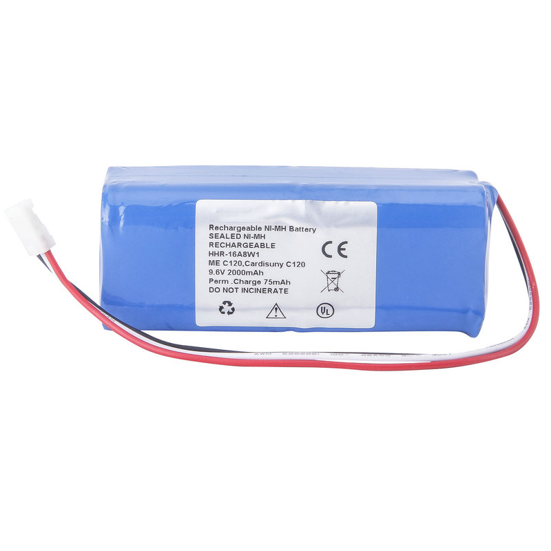 2000mAH New OTDR Battery for FUKUDA ME C120 Cardisuny C120 HHR-16A8W1 acer c120
