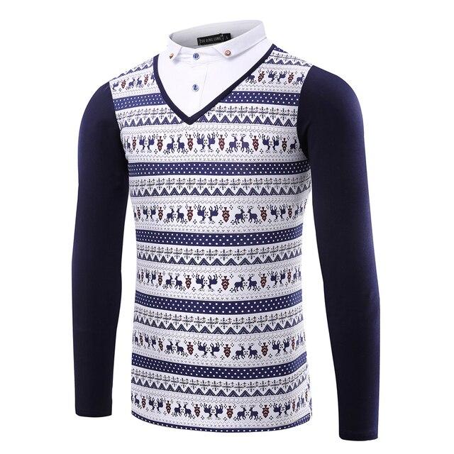 2016 новый бренд поддельные два мужская рубашка поло бренды длинные рукава осень хорошее качество мужской поло рубашки повседневные размер 3xl