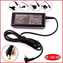 19V 3.42A адаптер переменного тока питания для ноутбука Зарядное устройство для acer Aspire 3650 3651 3660 3661 3680 3690 5920 1695 1202 3641 7230 7520 7530 7730