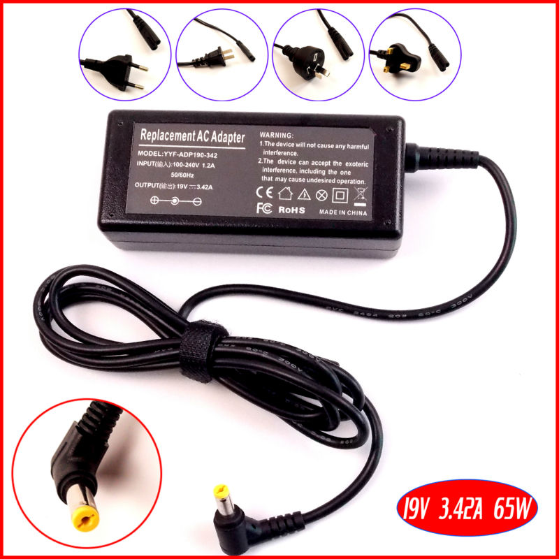 19V 3.42A Laptop Ac <font><b>Adapter</b></font> Charger for Acer Aspire 3650 3651 3660 3661 3680 3690 5920 1695 <font><b>1202</b></font> 3641 7230 7520 7530 7730 image