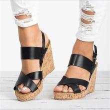 2019 New Gladiator Sandals Platform Women Wedges Sh
