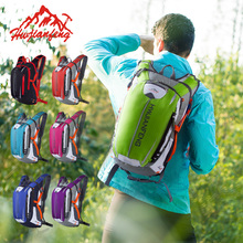 Hwjianfeng 1610 Waterproof Nylon Mountain Bike Backpack Outdoor Climbing Bag Sports Running backpack Unisex Cycling