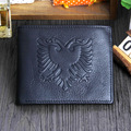 New arrival Genuine  Leather  Short Style Mini Coin Purse Men Wallet 3 Style Factory Price  Direct selling