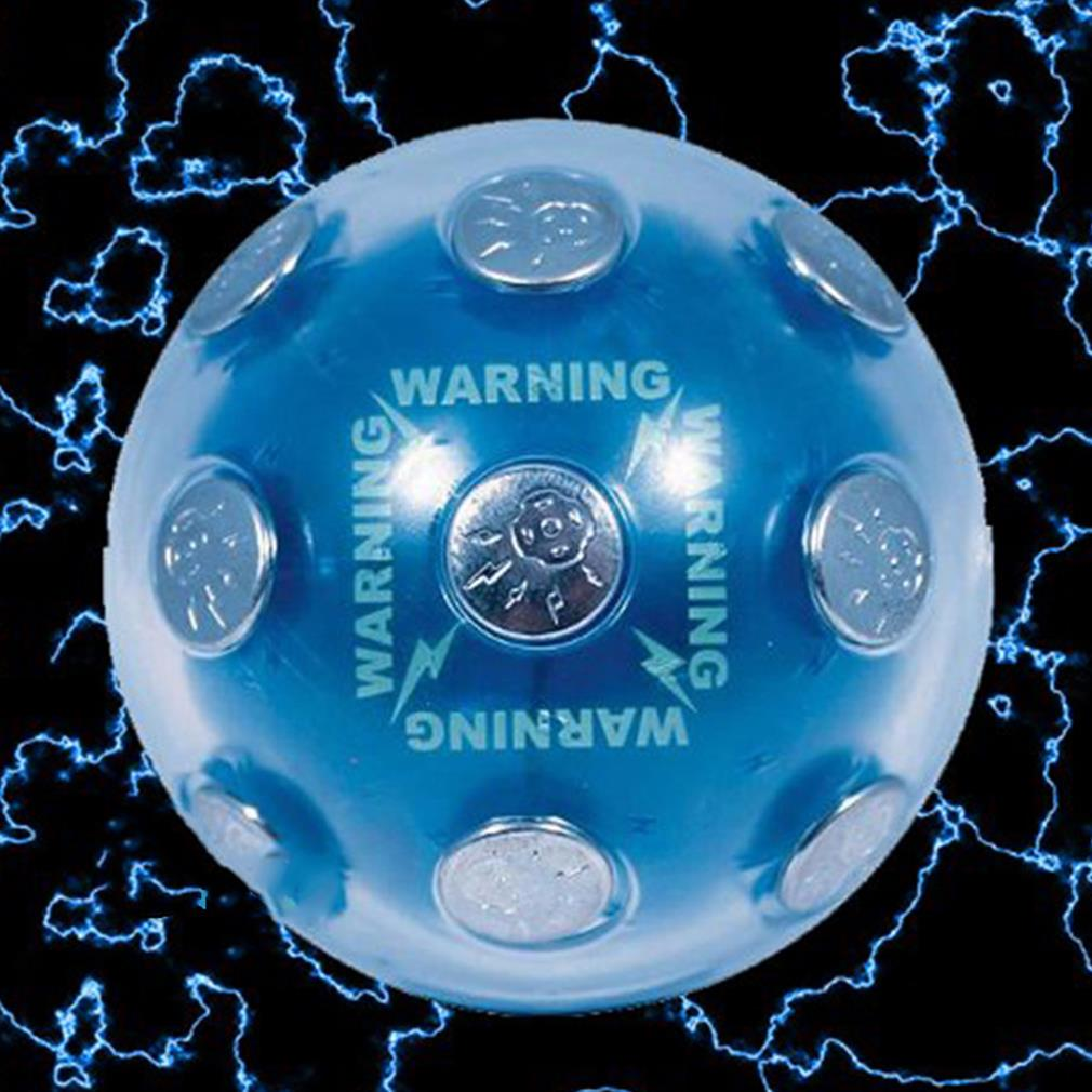 Игрушечные лошадки электрическим током шокирует светящийся шар игры xmas партии Развлечения игрушка в подарок