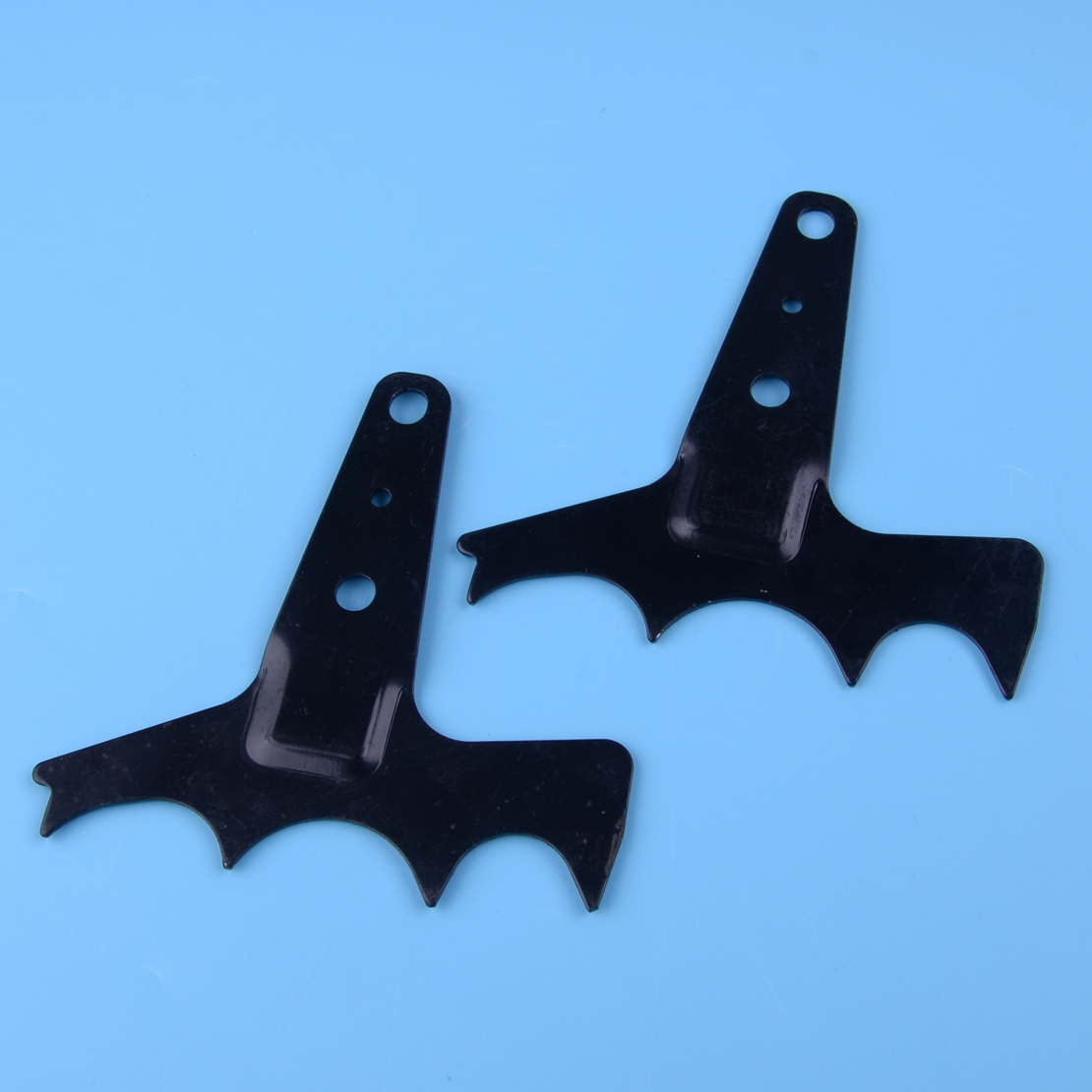 LETAOSK 2pcs Steel Felling Dog Bumper Spike Fit For Husqvarna 362 365 372 575 385 390 Chainsaw Spare Parts