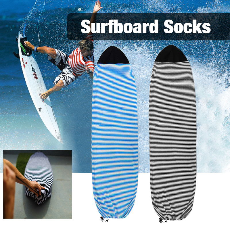 Qick-dry Surfboard Socks Cover Surf Board  Protective Storage Cover Case 6.3/6.6/7 for Surfing SportsQick-dry Surfboard Socks Cover Surf Board  Protective Storage Cover Case 6.3/6.6/7 for Surfing Sports