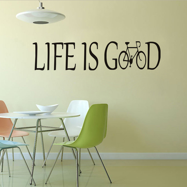 Aliexpresscom Buy Life Is Good Encouraging Quote Wall Sticker - Vinyl stickers designaliexpresscombuy eyes new design vinyl wall stickers eye wall