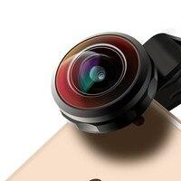 Umeitu Super Fisheye Lens 238 Degree Full Screen Phone Lens For iPhone X 8 7 6s Huawei Xiaomi Mobile Camera Fish Eye Lens YY 8