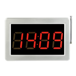 TIVDIO 999 Channel RF Wireless Tea Shop Bar Cafe Restaurant Calling Paging System Receiver Host Voice Broadcast F3290D