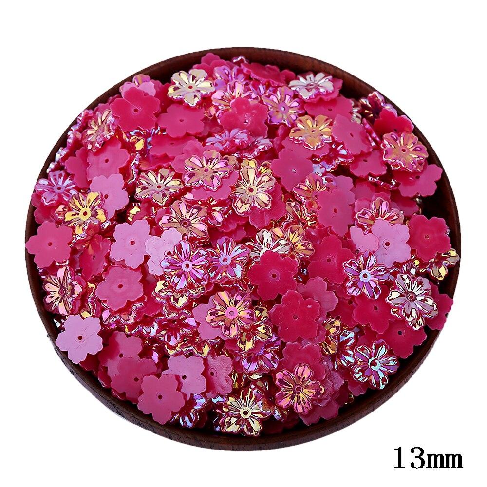 300 шт./лот Высокое качество мм 13 мм цветы в форме половинки бусин оптовая продажа ювелирные изделия аксессуары украшения из бисера для изготовления ювелирных изделий