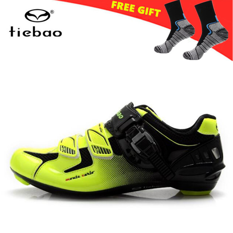 TIEBAO off Road Cycling Shoes Men Self-Locking Bicycle Bike Shoes Racing Athletic sapatilha ciclismo zapatillas deportivas mujer tiebao cycling shoes 2017 winter off road bike athletic boots sapato masculino zapatillas deportivas mujer mens sneakers women