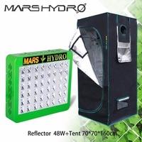 Mars Hydro Reflector 240W LED Grow Light Full Spectrum Switches+70*70*160cm grow tent
