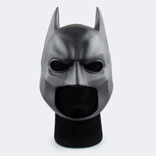 The Dark Knight Adult Batman Full Overhead Latex Black Cosplay Masks Helmets Party Halloween Prop Movie Super Hero Mask