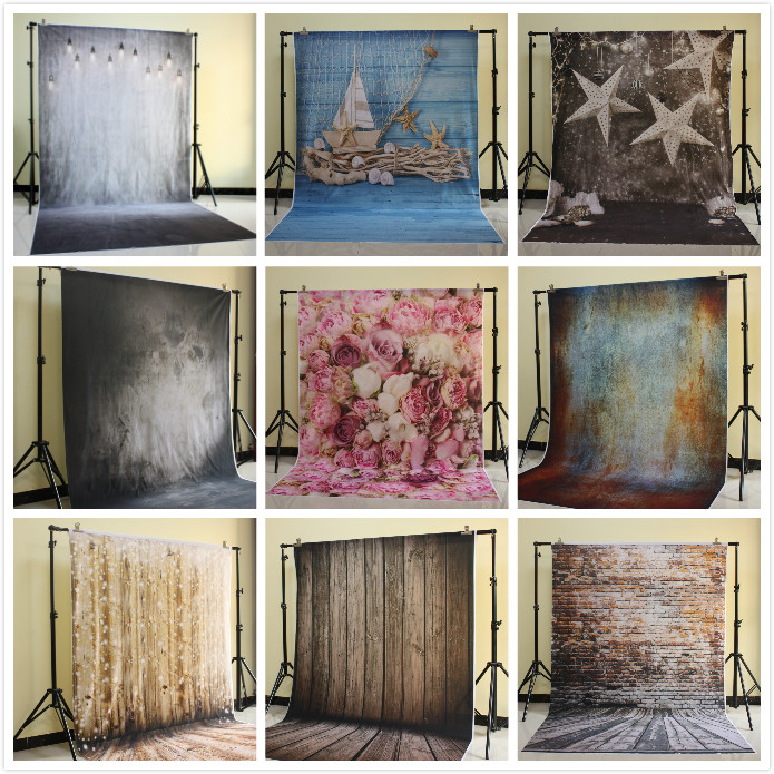 Photography Backdrops digital printed vinyl photo background Distressed Interiors Warehouse studio photoshoot backdrop D-1894