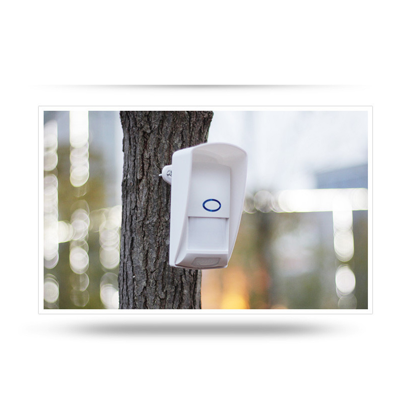 433Mhz RF PIR Motion Sensor Compatible with Sonoff RF Bridge for Smart Home Alarm Security Outdoor Waterproof in Sensor Detector from Security Protection