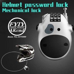 Image 1 - Casque moto universel antivol casque mot de passe verrouillage accessoires moto pour yamaha honda