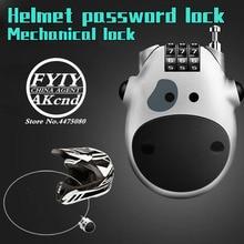 Universal รถจักรยานยนต์ anti   theft lock Helmet รหัสผ่านล็อครถจักรยานยนต์อุปกรณ์เสริมสำหรับ yamaha honda