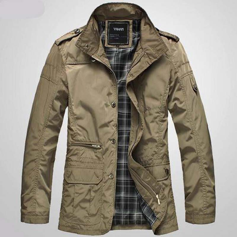 New Fashion Men Jacket Coat Hot Sell Casual Wear Korean Comfort Autumn Overcoat Outwear Necessary size: M-5XL ...