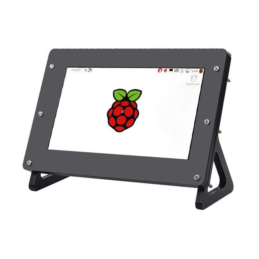 Новый 7 дюймов 1024x600 ЖК-экран монитор + плата драйвера + чехол для Raspberry Pi