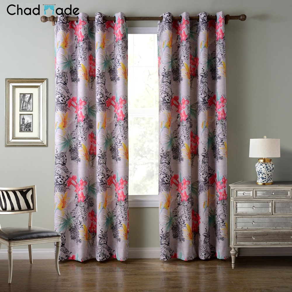 Printed Curtains Living Room Compare Prices On Custom Blackout Curtains Online Shopping Buy