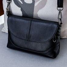 Lederen Crossbody Tassen Voor Vrouwen Dames Schoudertassen Nieuwe Mode Handtassen Vrouwelijke Koeienhuid Lederen Portemonnee Tassen