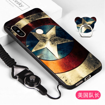 superior quality a7968 50aa2 For Xiaomi Redmi Note 5 Pro Case Soft Silicone Cartoon 3D Relief ...