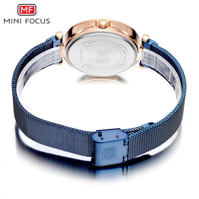 Minifocus Watch Women Luxury Fashion Quartz Diamond Lady Wrist Watch Elegant Rhinestone Watches For Women Relogio Feminino 2019