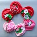 Flor chapéu do bebê recém-nascido chapéu do bebê para a menina moda infantil do bebê meninas linda flor headwear gorros cap chapéus foto vestido