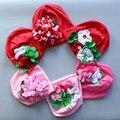 newborn baby hat  flower baby hat for girl fashion Kids Baby Girls Lovely Headwear Flower Beanies Cap Hats Photo Dress
