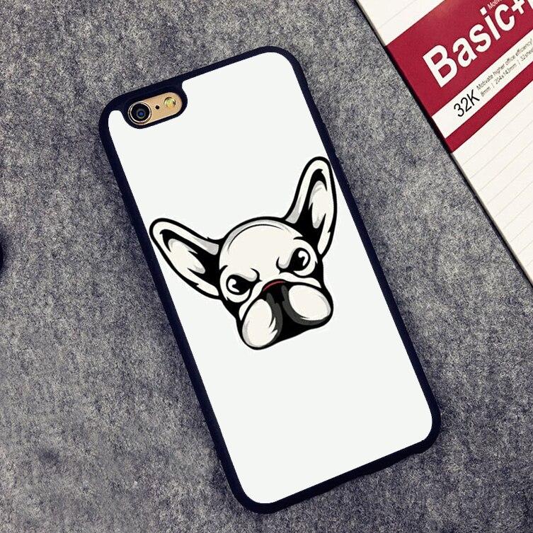 В масках Frenchie Французский бульдог мягкий силиконовый защитный чехол для iPhone X 8 7 7 плюс 6 S плюс 5 5S SE