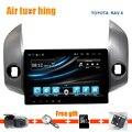Quad Core Android 5.11 Navegación Del Coche DVD GPS para Toyota Rav 4 2009-2013 Vídeo Estéreo Radio FM Bluetooth Wifi 1024*600 HD de Pantalla