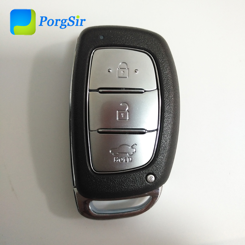 3 Button 434 Mhz FSK Smart Proximity Keyless Go Remote Control Key For Hyundai IX35 With PCF7953 Hitag2 ID46 Chip