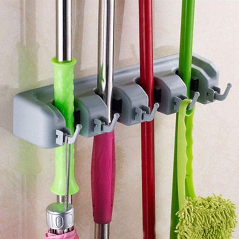 Multifunctionele Keuken Organizer Badkamer Opslag Houders Mop - Home opslag en organisatie - Foto 4