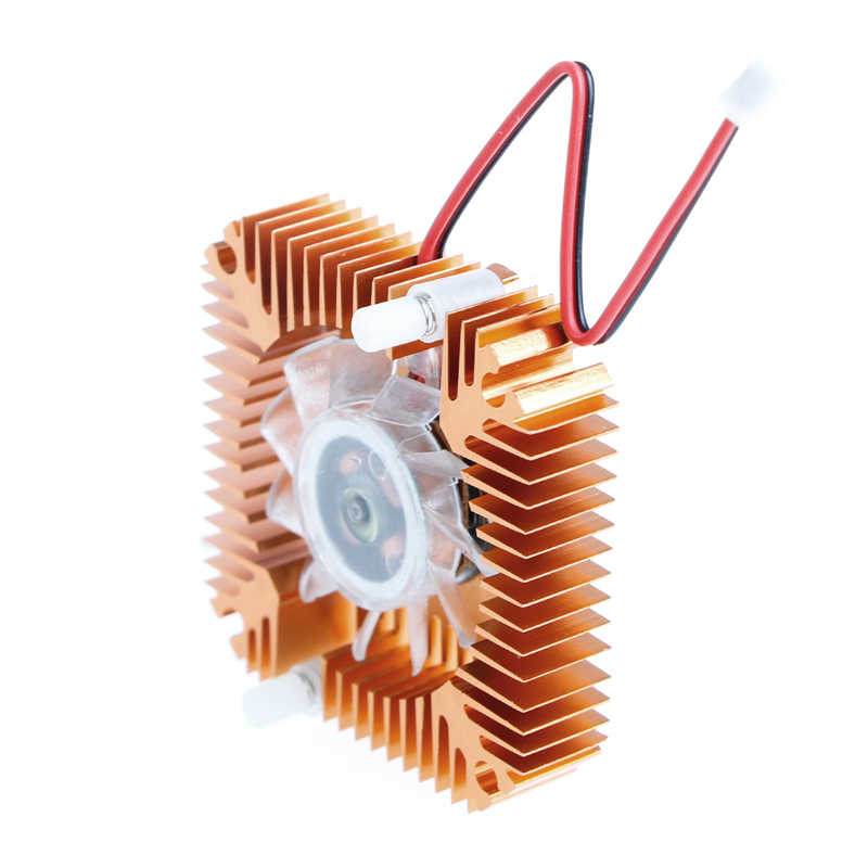 2-Pin 55 Mm PC GPU VGA Video Kartu Heatsink Pengganti Cooling Fan 12V 0.10A