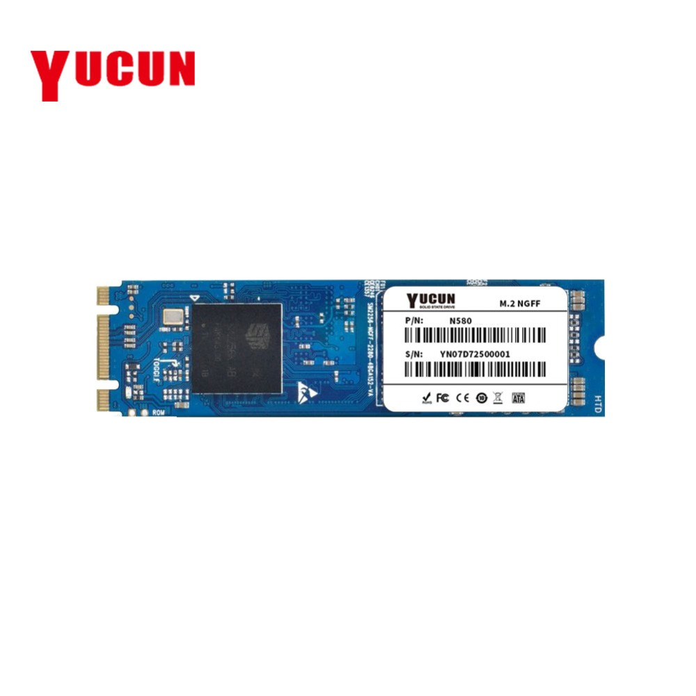 YUCUN <font><b>M.2</b></font> <font><b>SSD</b></font> 120 GB 240 GB Interne Solid State Drive 128 GB 250 GB 256 GB 2280 NGFF für tablet PC Ultrabooks Laptop image