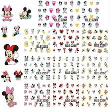 (11 ONTWERPEN IN ÉÉN) 11 Patroon MOUSE Water Transfer Nail Stickers schattige muis Nail Decals Nail Art Sticker Tattoo Stickers BLED