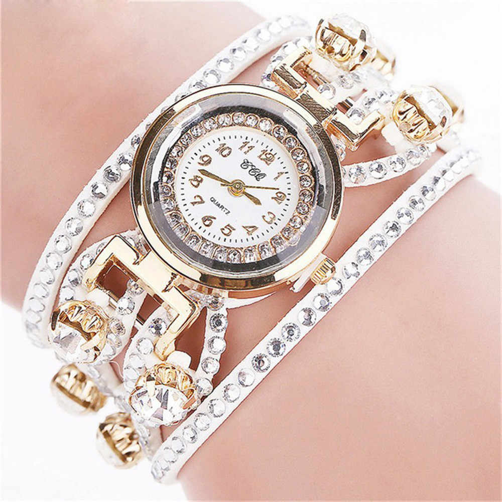 Women's Watch 2019 Luxury Vintage Leather Bracelet Women Wristwatch Dress Quartz Ladies Watch relogio feminino clock reloj mujer