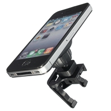 Black Smartphone Magnetic Universal Car Air Vent Mount Holder Stand For Galaxy S5 For iPhone 6 5 GPS Mobile Cell Phone Holder