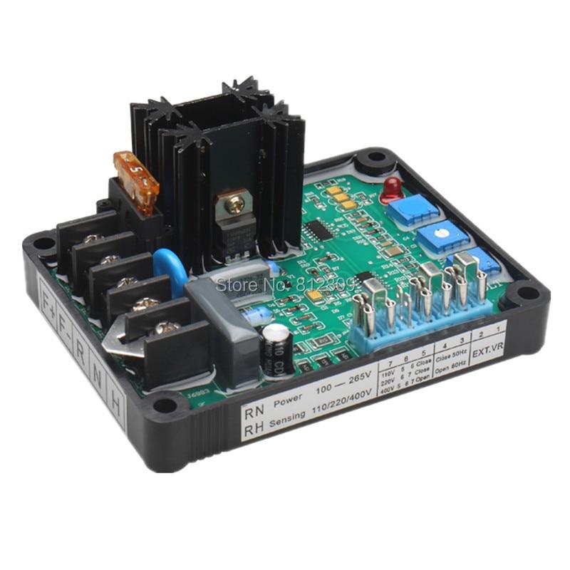 2018 nuevo GAVR-8A AVR 8A GAVR 8A generador de regulador de voltaje automático módulo Universal AVR generador bien trabajando envío gratis