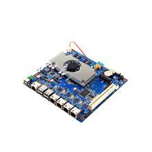 4 lan mini itx tablet motherboard fanless motherboard scrap with D2550 1 86GHZ processor DDR3 2GB