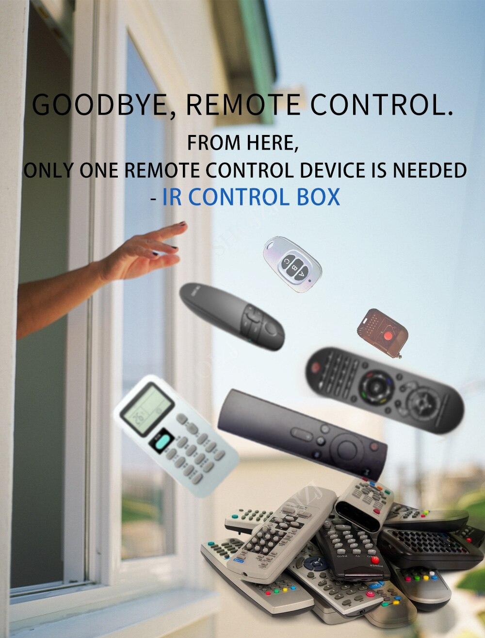 ir rf 433mhz 315 universal controle remoto