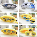 25 см Плюшевые игрушки милый мультфильм Тоторо Губка Боб Миньоны маленький стручок гороха банан кукла подвеска для подарок на день рождения