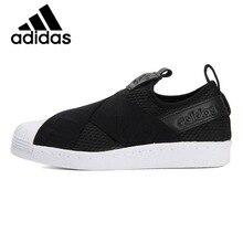 купить Official Original Adidas Originals SLIPON WFOUNDATION LOW Women's Skateboarding Shoes Breathable Leisure Sneakers CQ2382 Classic по цене 4573.01 рублей