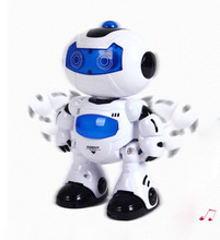 BOHS Toy RC Dance Robots Walking and English Speaking Humanoid Toys