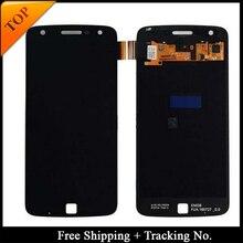 Izleme No. 100% test Motorola Moto Z Oynamak Için LCD Için XT1635 Ekran LCD Ekran dokunmatik sayısallaştırıcı tertibatı
